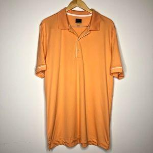 💥 Greg Norman Light Orange Golf Polo in Sz Sz XL
